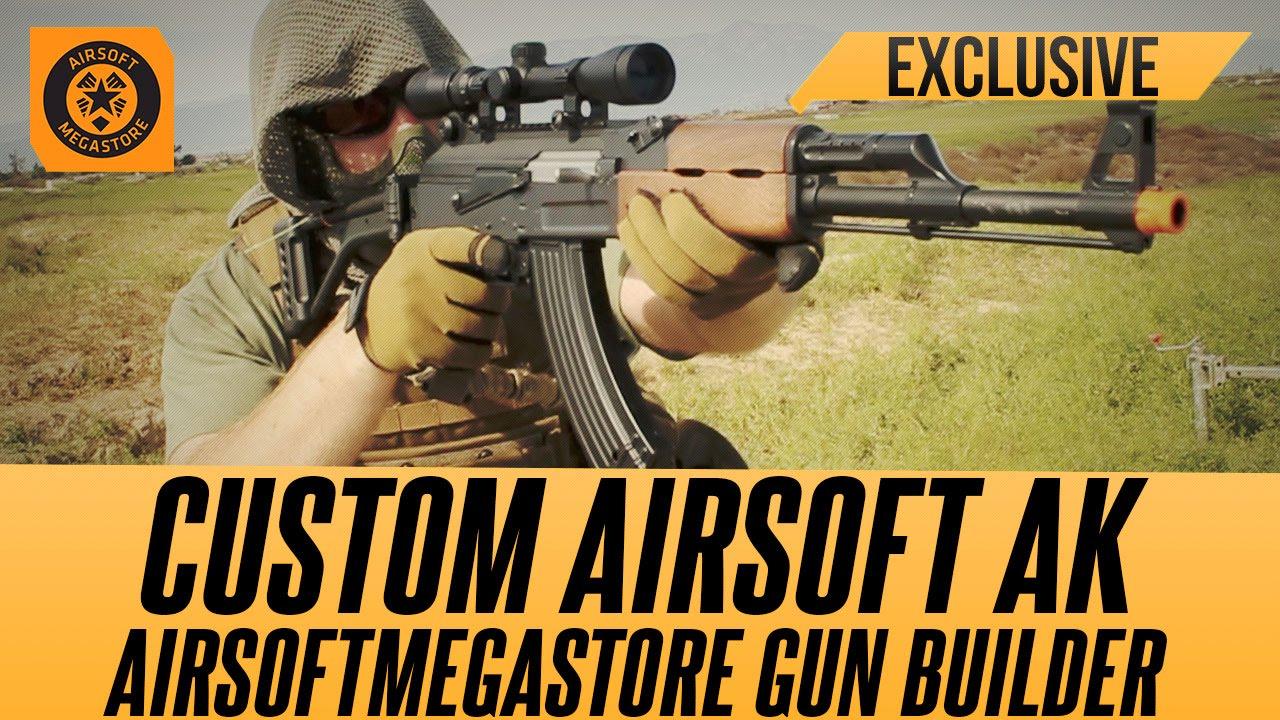 build your custom ak with the ams gun builder airsoftmegastore com