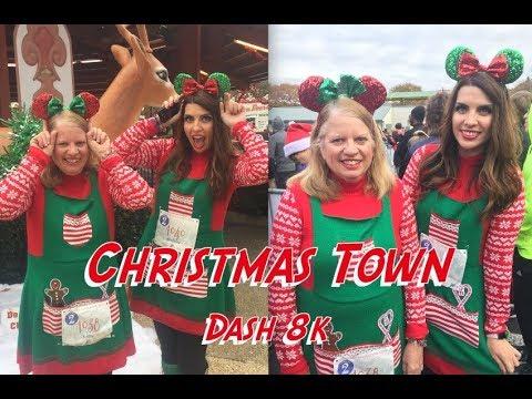 Christmas Town Dash 8k 2017
