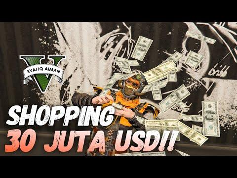 SHOPPING ANAK ORANG KAYA - GTA 5 Online (Bahasa Malaysia)