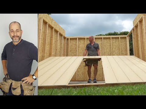 Framing A Shed / How to Build A Shed | Part 3