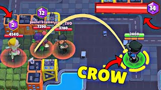 1000 IQ CROW *SAVE* ! Brawl Stars Fails & Wins #185