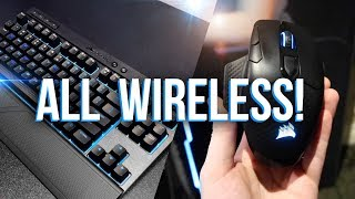 Corsair's Wireless Gaming Peripheral Line-up!