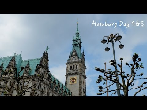 Let's go to Hamburg Day 4 & 5 | Sights & Shopping