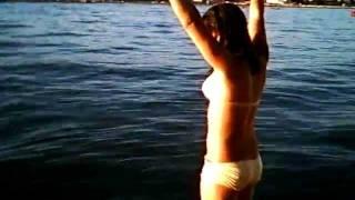 Trampolino di Grado 2008: Giulia fa un salto mortale avanti carpiato col naso tappato