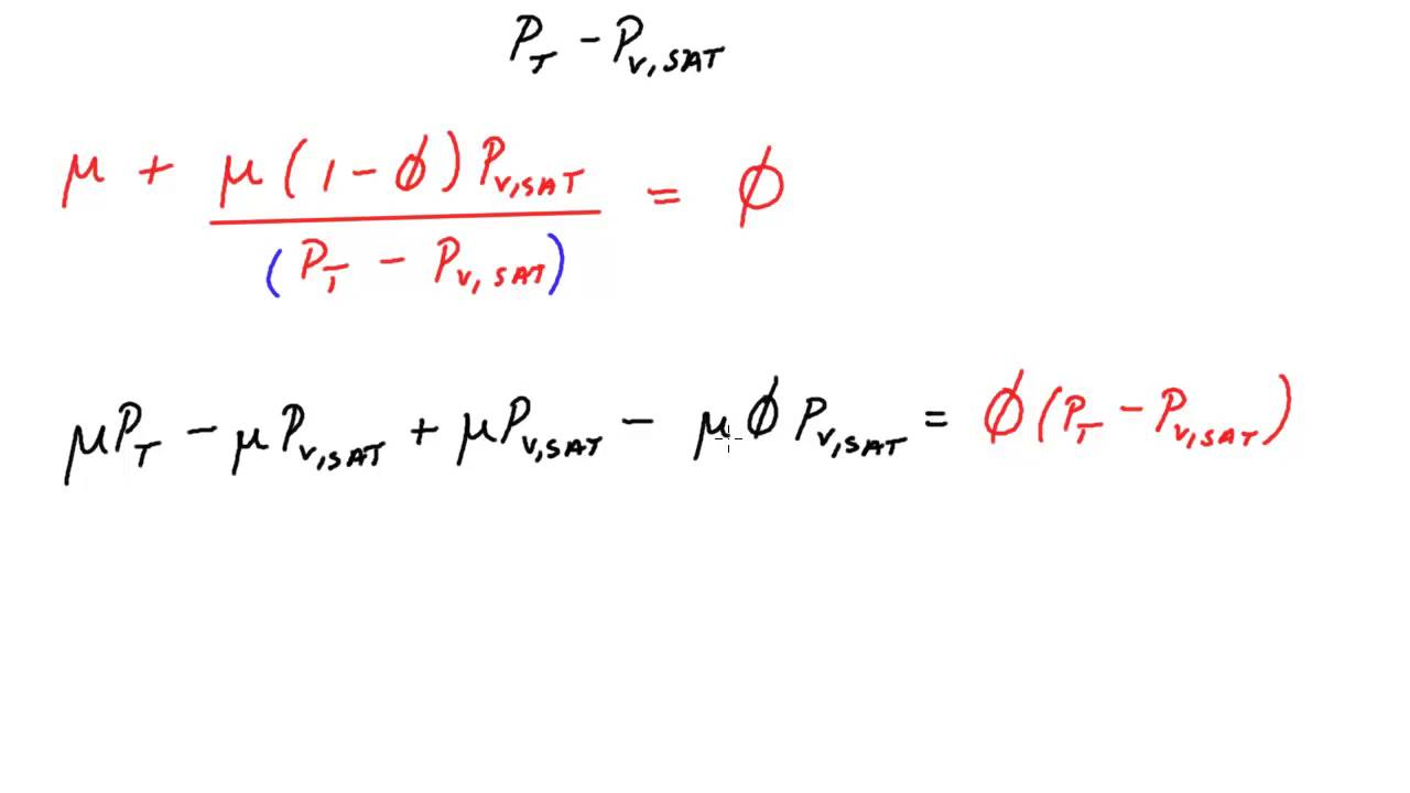 Numerically calculating psychrometric properties relative numerically calculating psychrometric properties relative humidity geenschuldenfo Choice Image