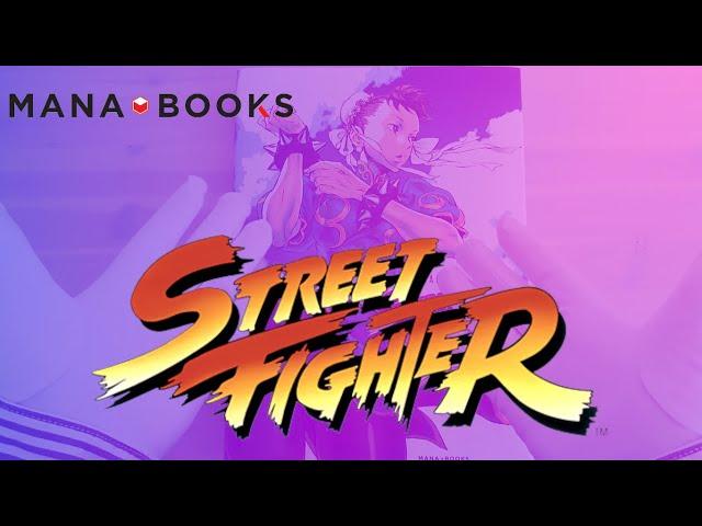 L'art de Street Fighter Artbook par mana books