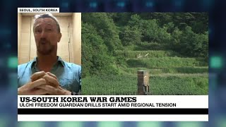 US   South Korea War Games   Troops will be underground in bunkers playing computer simulations