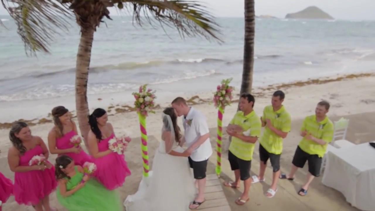 Destination Weddings At Coconut Bay Beach Resort St Lucia