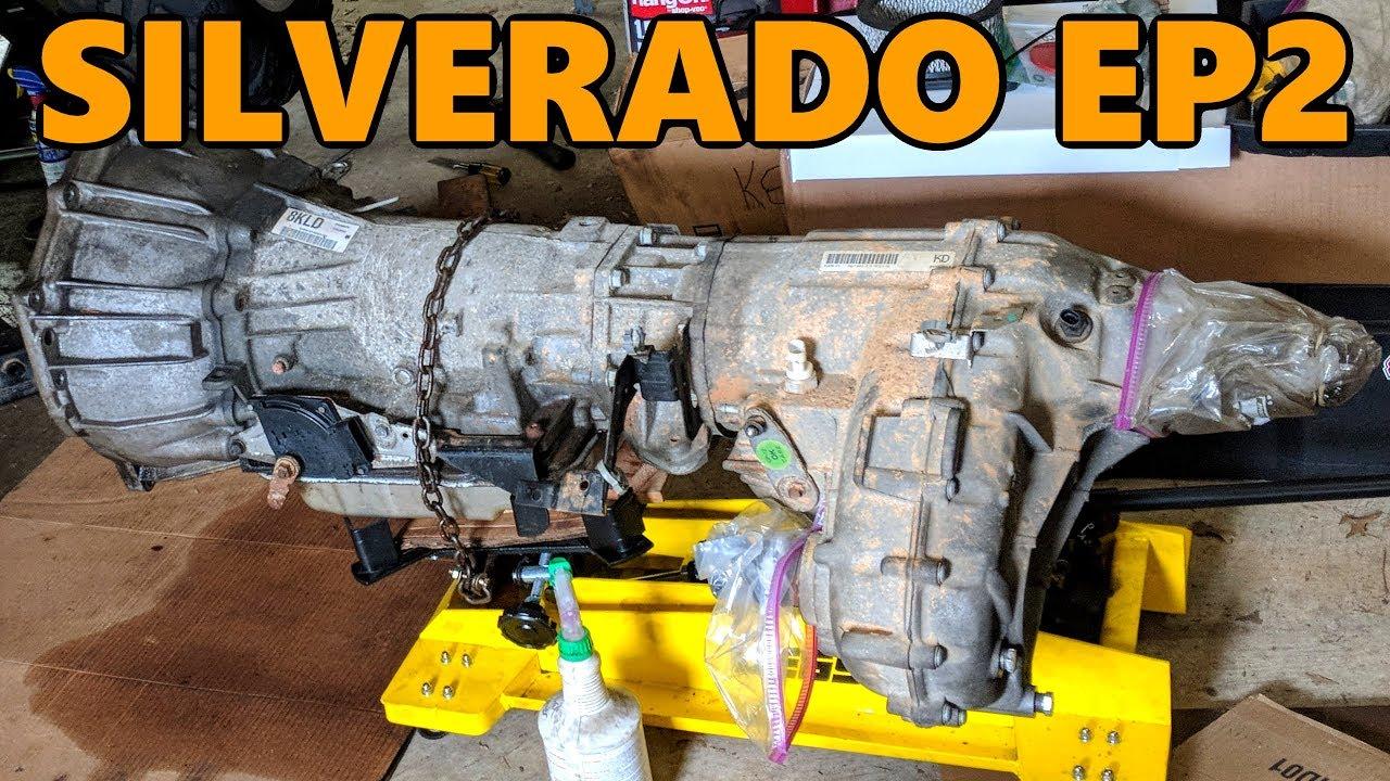 2000 chevy silverado 1500 transfer case removal