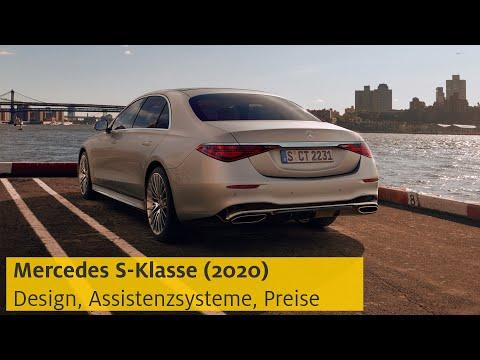 Mercedes S-Klasse (2020): Design, Assistenzsysteme, Preise   ADAC
