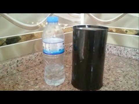 Sıcak Su Termosu Nasıl Yapılır Evde Termos Yapımı Geri Dönüşüm