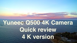 Yuneec Q500 4K: a quick review of 4K benefits...(viewable in 4K)