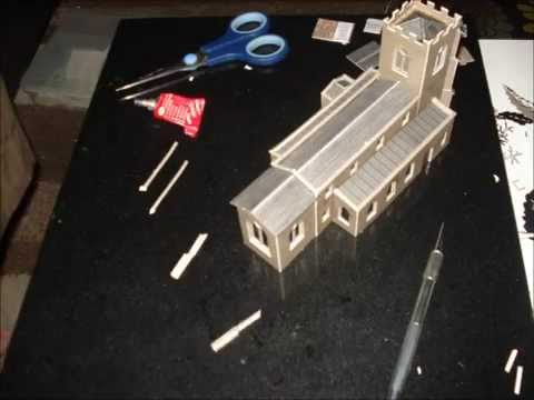 Making A Metcalfe Model Of A Church
