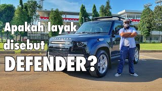 LAND ROVER DEFENDER REVIEW INDONESIA