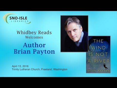 Whidbey Reads Welcomes Brian Payton