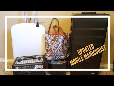 UPDATED - Mobile Manicurist Set Up   Sunrise Case