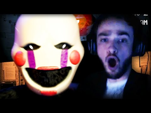 Five Nights at Freddy's 2 (NEW) - SCARY GAME EVEN SCARIER!