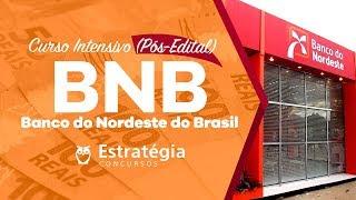 Concurso BNB: Aula Intensivo Gratuita - Conhecimentos Específicos Bancários AO VIVO ÀS 8h30min