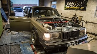 Volvo 240 Wagon 2.3 liter Turbo 290hp Dyno