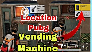 Vending Machine PUBG Mobile Achievement Number Of Times 8 drink are Obtained from Vending Machine |