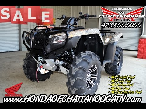 2016 Rancher 420 Atv Itp Wheels Tires Winch Bumper Skid