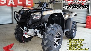 2016 Rancher 420 ATV - ITP Wheels & Tires / Winch / Bumper / Skid Plates - Honda of Chattanooga