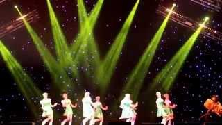 """jazz-ballet """"Mainstream"""" СПб - """"Russian dance"""""""