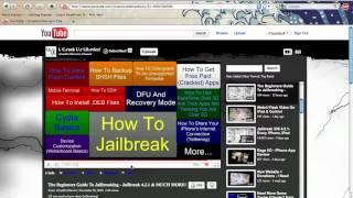 Jailbreak 4.2.1 & The Beginners Guide to Jailbreaking - iCu iD