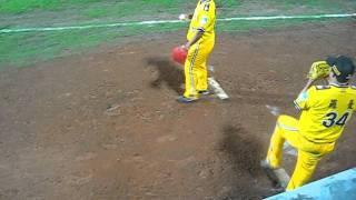 ヤクルト ロマン 台湾兄弟象時代の投球練習
