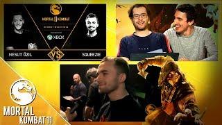 Squeezie & Teddy Riner représentants français pour cette grande soirée Mortal Kombat 11 !