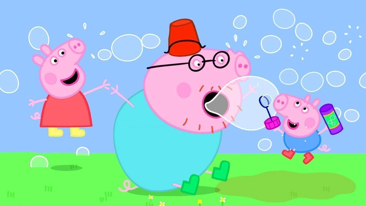 Peppa Pig Italiano - Bolle con Peppa - Collezione Italiano - Cartoni Animati