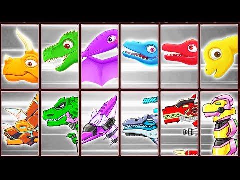 Archaeologist Jurassic + Dino Robot Corps | Eftsei Gaming