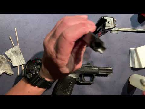 "How To CLEAN The Springfield XD-M 3.8"" Compact"