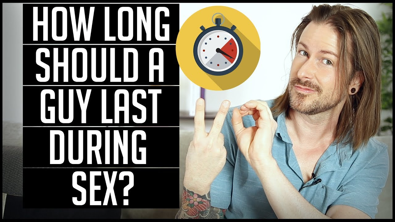 This is how long sex should last