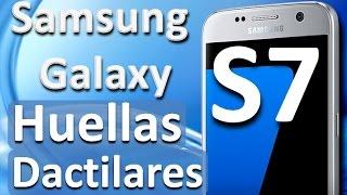 Samsung Galaxy S7 Huellas Dactilares Cómo Funciona en Español