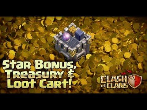 UPDATE - SCHATZKAMMER | STAR BONUS | LOOT CART! || CLASH OF CLANS [Deutsch/German HD+]