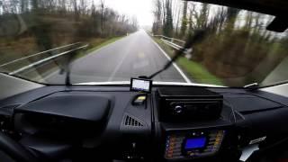 Italian Ambulance Ride - Driver POV HD1080p