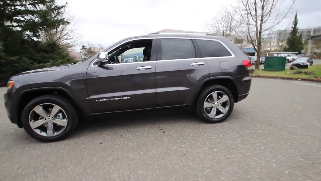 Jeep Cherokee Altitude >> 2016 Jeep Grand Cherokee | Granite Crystal Metallic | GW271587 | Redmond | Seattle | - YouTube