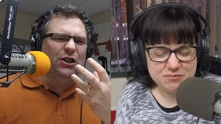 Crack the Cupboard Trivia: Andy and Tasha Eat Kool Aid Packets
