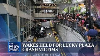 Lucky Plaza accident victims' wake | THE BIG STORY | The Straits Times