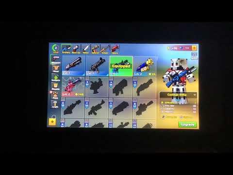 Playing Pixel Gun 3-D Mobile On Controller