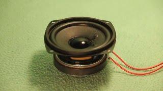 Visaton FRS 8 speaker ( test )