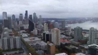 Space Needle - Elevator Ride Going Up