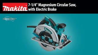 "MAKITA 7-1/4"" Magnesium Circular Saw Thumbnail"