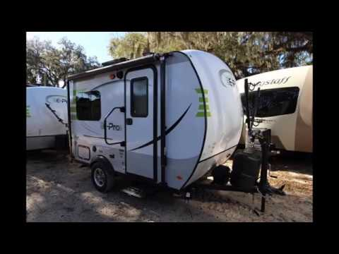 2017 Geo Pro G14fk Travel Trailer By Forest River Youtube