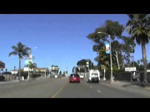 Drive Though Oceanside California February 27 2013 Part 2 of 2