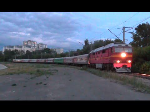 ТЭП70-0479 с пассажирским поездом Екатеринбург - Устье-Аха