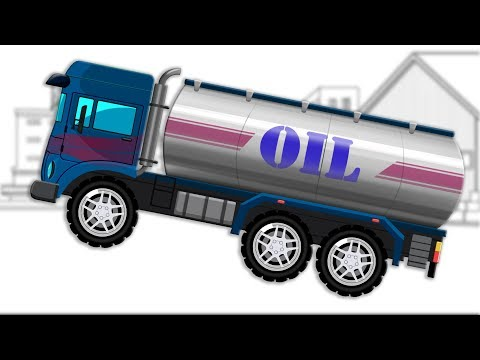 Oil Tanker   Formation and Uses   Transport Vehicle   Video for Children