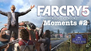 Far Cry 5 Moments #2(Weird and WTF Moments)| All Games