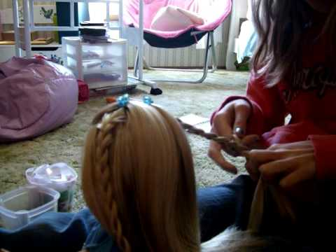 How To Do A Cute Hairstyle On Your American Girl Doll